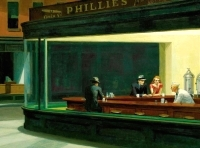 Edward Hopper's Nighthawks at the Diner