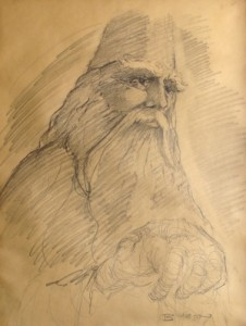 Gandalf by John Byron, commissioned by me
