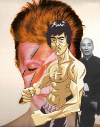 David Bowie, Ip Man, Bruce Lee