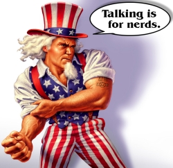 Uncle Sam Big Not Smart