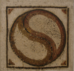 Early Roman Mosaic Yin-Yang