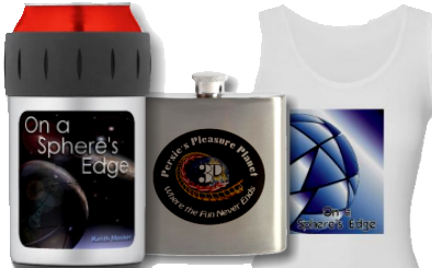 Merchandise relating to On a Sphere's Edge
