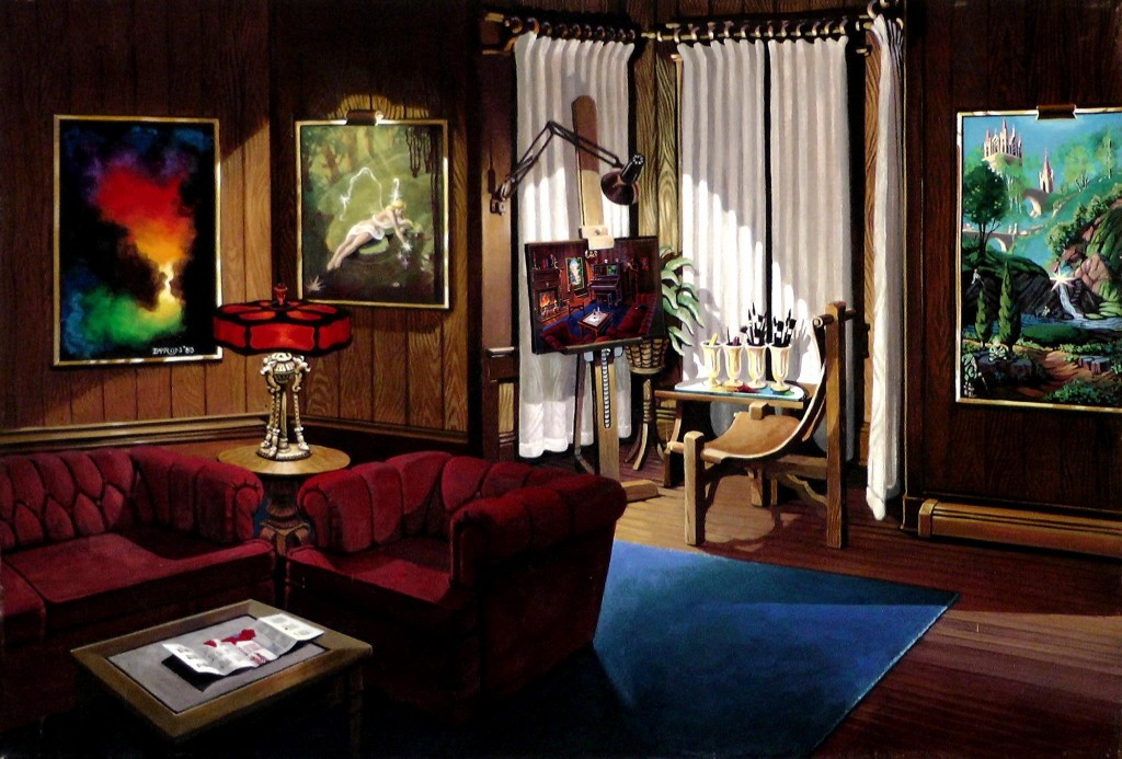 'At Home', John R. Byron 1983