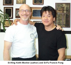 Si-Hing Keith Mosher with Si-Fu Fong