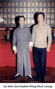 Jiu Wan and Wong Shun Leung